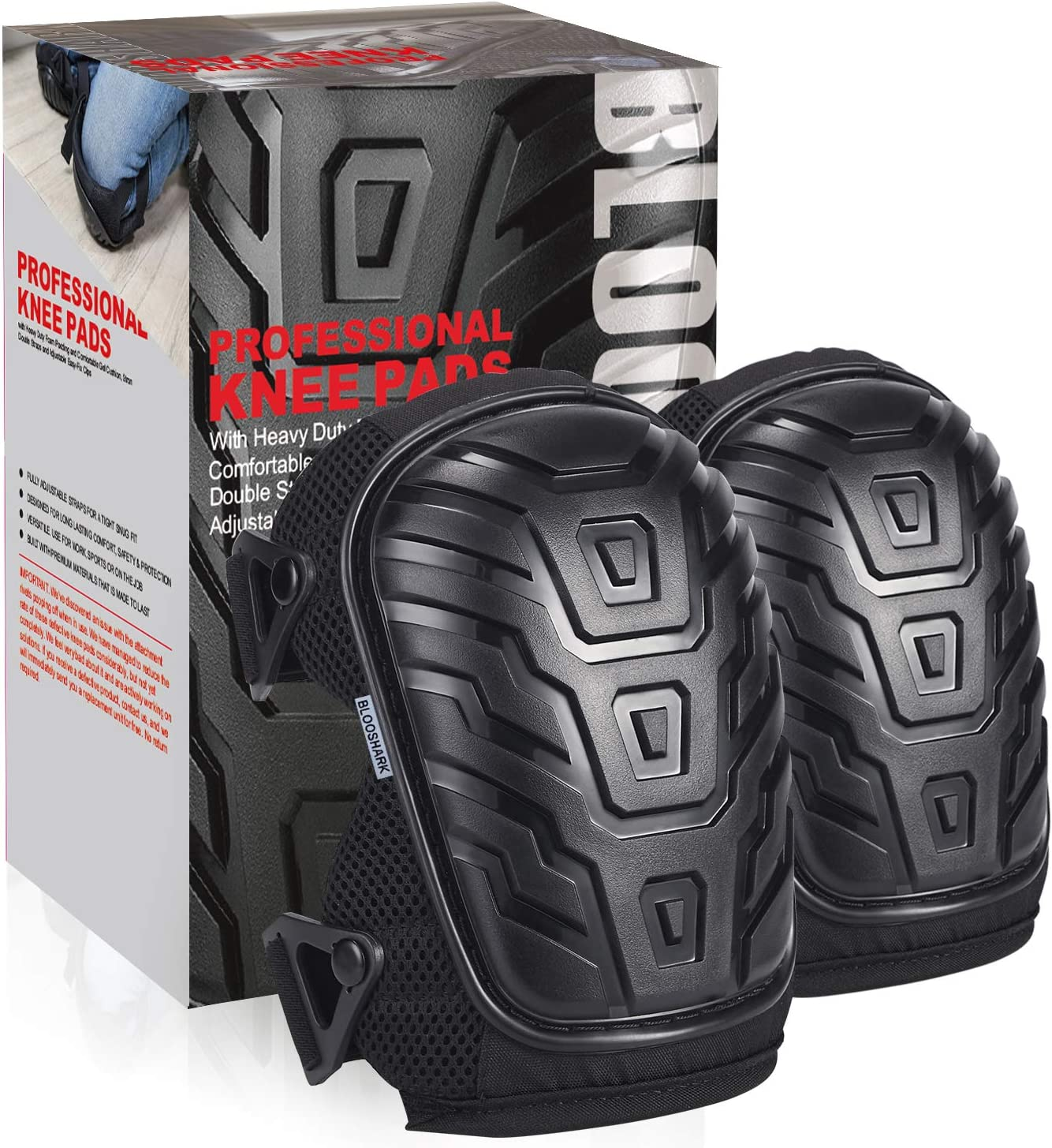 Professional Knee Pads for Work Max 70% OFF Cushion Cheap mail order shopping Pad Gel - Soft
