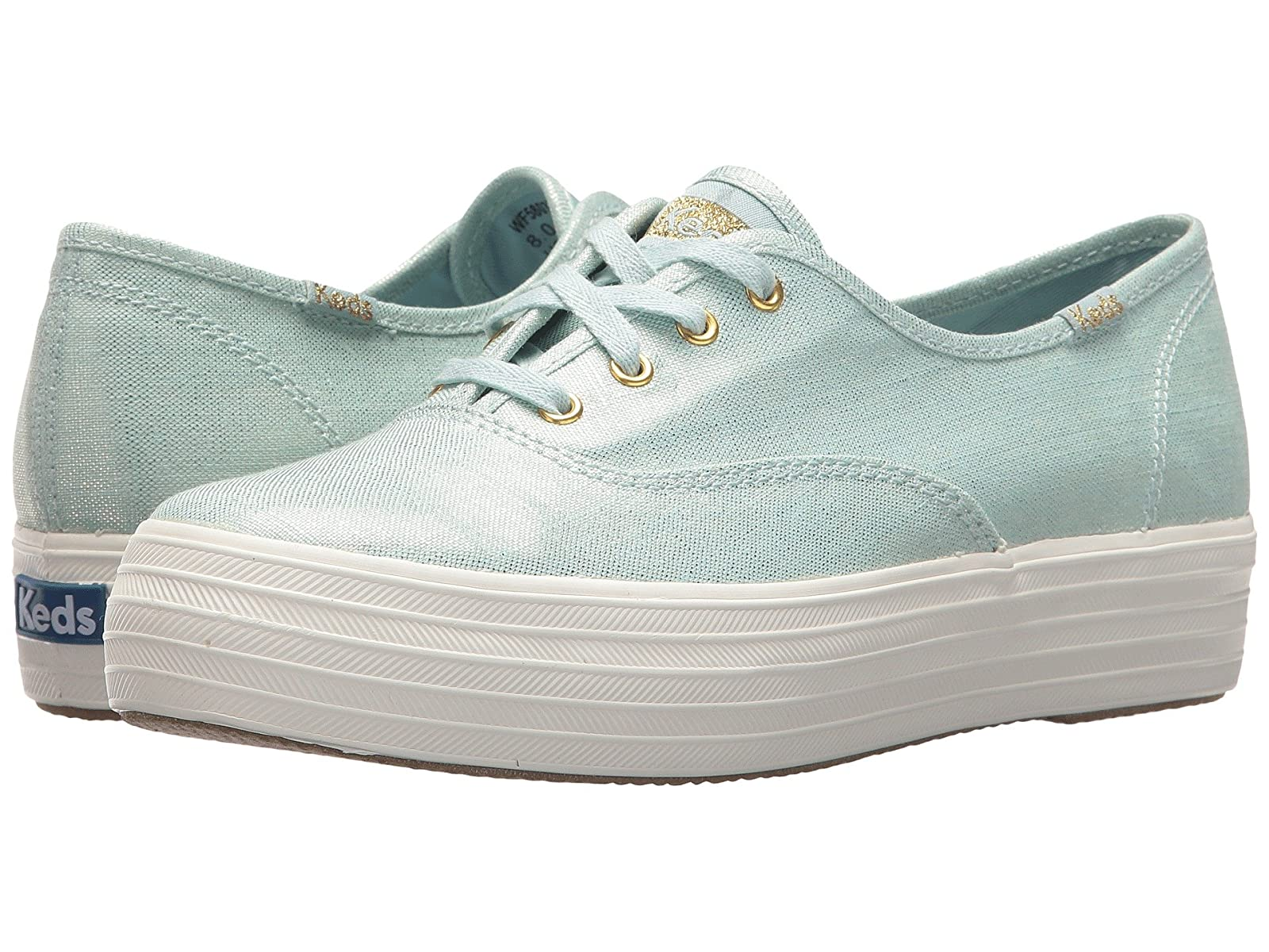Keds Triple Metallic LinenCheap and distinctive eye-catching shoes