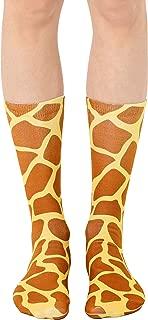 Living Royal - Giraffe Print Crew Socks