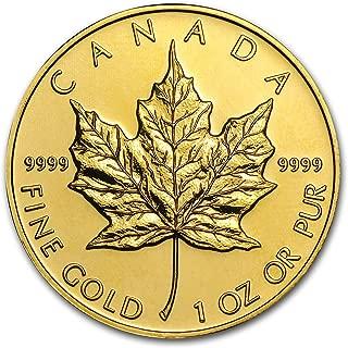 1979 CA - Present Canada 1 oz Gold Maple Leaf .9999 Fine (Random Year) 1 OZ About Uncirculated