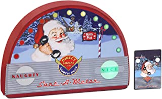 Mr. Christmas Sant-A-Meter Naughty or Nice Meter - Direct Signal to The North Pole for Santas Good and Bad List for Kids, New