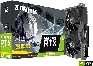 ZOTAC Gaming GeForce RTX 2070 Super Mini 8GB GDDR6 256-Bit 14Gbps Gaming Graphics Card, IceStorm 2.0, Super Compact, Zt-T20710E-10M