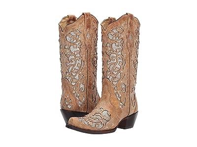 Corral Boots A3670 (Beige) Cowboy Boots
