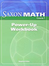Saxon Math Course 1: Power-Up Workbook