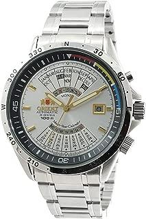 Orient Sports Automatic Multi-Year Calendar Silver Dial Watch EU03002W
