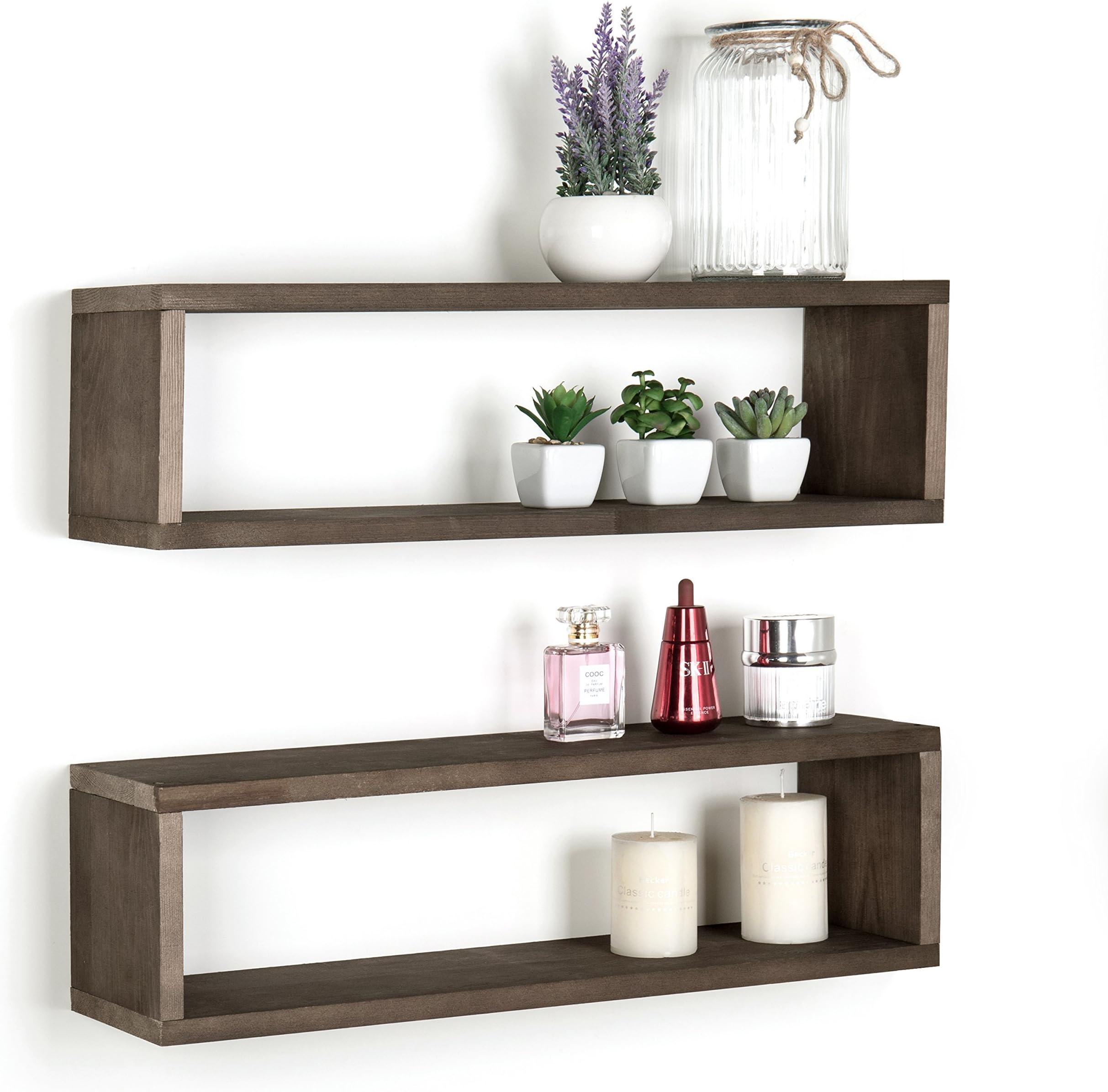 Brown wood set