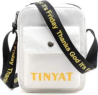 TINYAT Moda Impermeable Bolso de Mujer para Hombre Bolso práctico Simple de Compras Judi, T518