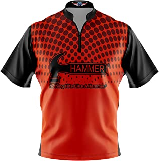 Logo Infusion Bowling Dye-Sublimated Jersey (Sash Collar) - Hammer Style 0354 - Sizes S-3XL