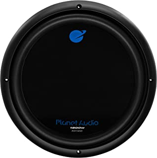 Planet Audio AC12D Car Subwoofer - 1800 Watts Maximum Power, 12 Inch, Dual 4 Ohm Voice Coil, Easy Mounting, Sold Individually