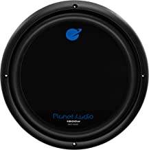 Planet Audio AC12D Car Subwoofer – 1800 Watts Maximum Power, 12 Inch, Dual 4 Ohm..