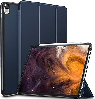 iPad Pro 11 ケース Infiland Apple pencil 2代対応 iPad Pro 11 (2018新型)三つ折スタンドカバー キズ防止 軽量 薄型 オートスリープ機能 スマートカバー 2018年発売の 新しいiPad Pro 11インチ 対応 保護カバー ワイヤレス充電