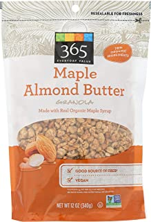 365 Everyday Value, Maple Almond Butter Granola, 12 oz