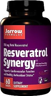 Jarrow Formulas Resveratrol Synergy, Supports Cardiovascular Function, 60 Easy-Solv Tabs