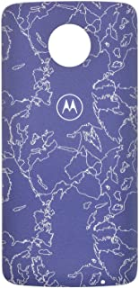 Moto Snap, Motorola, Style Shell, PG38C02360, Nimbus Azul