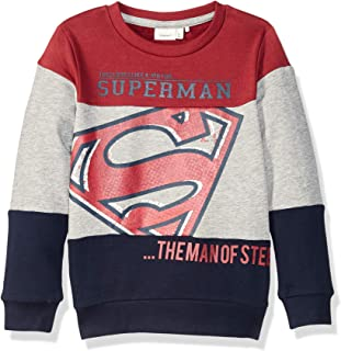 Name It Erkek çocuk Sweatshirt'ler NKMSUPERHERO KIAM SWEAT UBR WAB