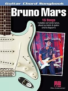 Bruno Mars - Guitar Chord Songbook: Lyrics/Chord Symbols/Guitar Chord Diagrams (Guitar Chord Songbooks)