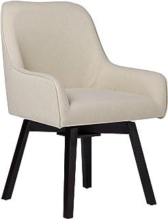 Studio Designs Spire Swivel Task Chair - Silla de Escritorio, Microfibra, Arena Blanca, 25.5