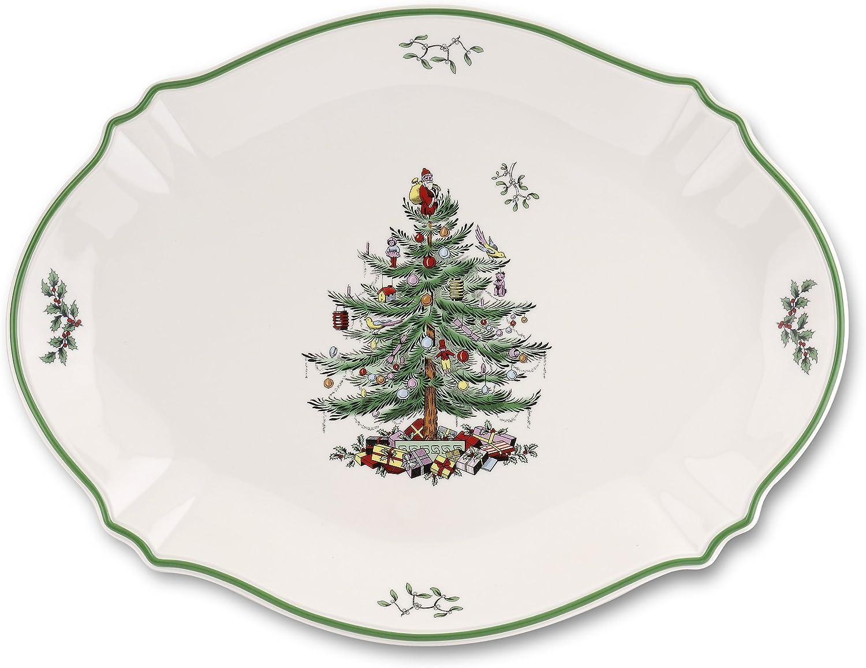 Spode Christmas Tree Oval Platter