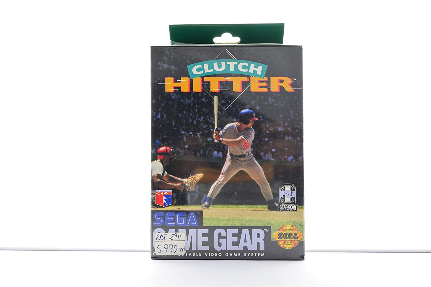 Clutch Hitter - Sega Max 58% OFF Gear Game NEW before selling ☆