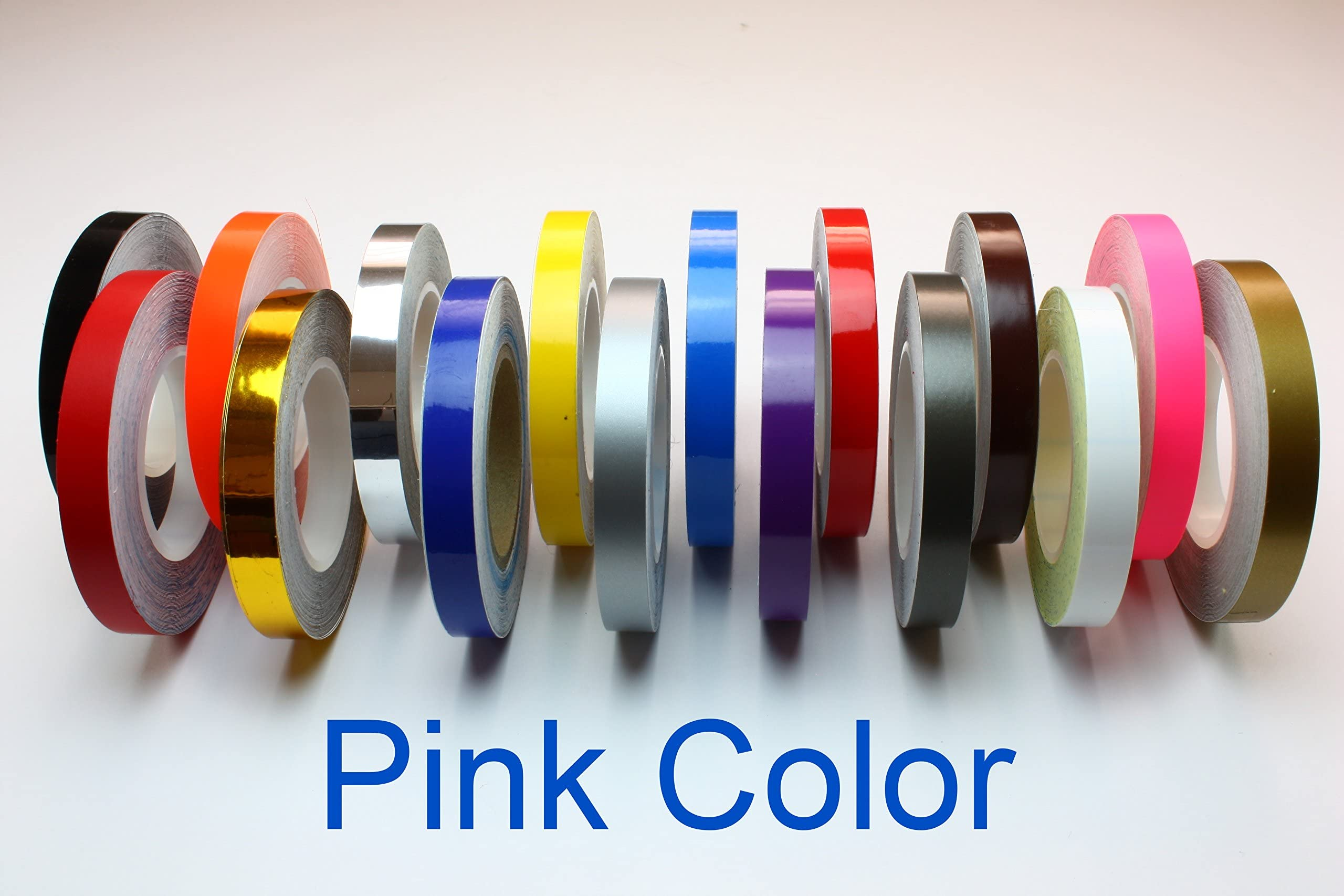 "1//2/"" 12mm x9.8m Double Pin Striping Stripe Vinyl Tape Decal Car//Bike Sticker #99"