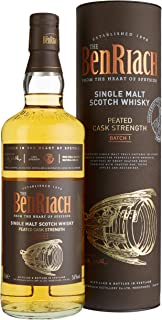 Benriach Peated Cask Strength Whisky mit Geschenkverpackung 1 x 0.7 l
