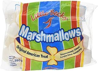 Little Becky - Caramelos auntentico marshmallow americano, 280 gr