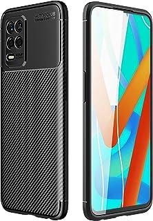 جراب TingYR لهاتف Realme 8 5G، فائق النحافة من مادة TPU لامتصاص الصدمات، مضاد للخدش، غطاء مطاطي مرن ممتاز، غطاء لهاتف Real...