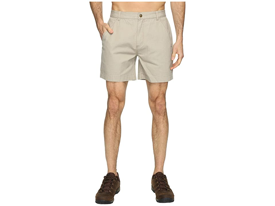 Royal Robbins Billy Goat Shorts (Khaki) Men