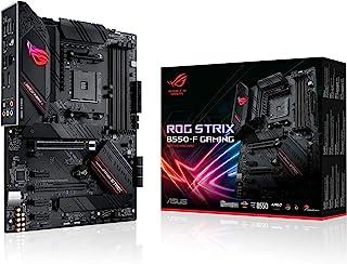 ASUS ROG Strix B550-F Gaming - Placa Base Gaming ATX AMD AM4 con VRM de 14 Fases, PCIe 4.0, Intel 2,5 GB LAN, Dual M.2, Mi...