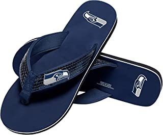 ae7f6164a18f Amazon.com  NFL - Slippers   Footwear  Sports   Outdoors