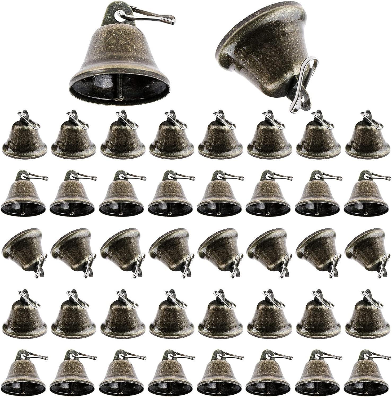 50 Sets Bronze Craft Bells Bell El Paso Mall Vintage Jingle Decoration excellence