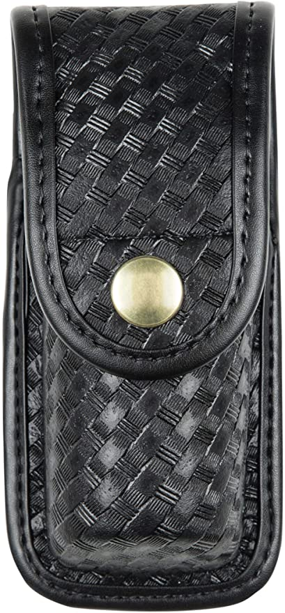 Bianchi 22095 Black Basketweave AccuMold Elite 1 Compact Flashlight Light Holder
