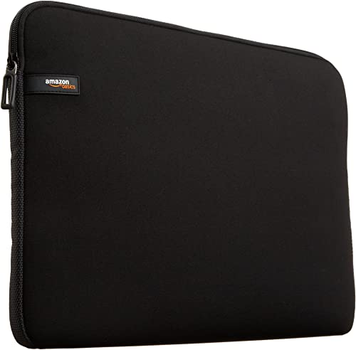 AmazonBasics 15.6-inch Laptop Sleeve - Internal Dimensions - 15 X 0.4 X 11 Inches - Black