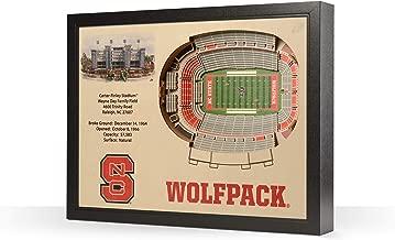 NCAA ولاية كارولينا الشمالية حزمة 25-layer stadiumview فنية جدارية ثلاثية الأبعاد