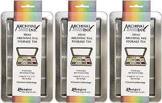 Ranger Mini Archival Ink Storage Tins - Pack of 3 Tins