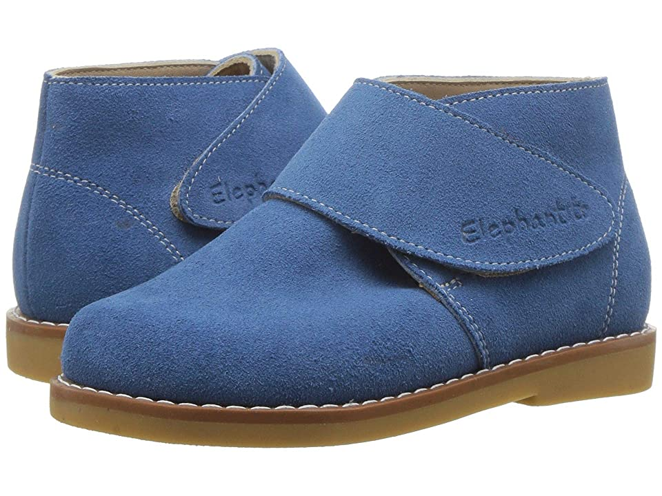 Elephantito Suede Bootie (Toddler/Little Kid/Big Kid) (Blue) Kids Shoes
