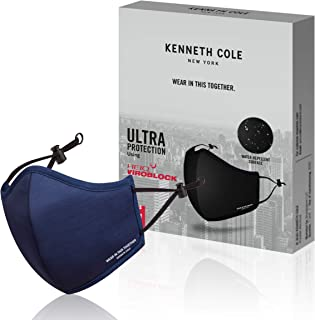 Kenneth Cole Neoprene Masks with Heiq Viroblock Protection and Smart Temp - The Perfect Face Mask with Unisex Design and W...