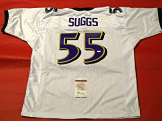 Terrell Suggs Autographed Jersey - JSA Certified - Autographed NFL Jerseys