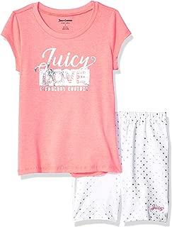 Juicy Couture 橘滋 女童短裤套装 2 件套