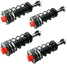 MOCA 171992 171994 Full Set 4pcs Complete Strut Assembly Front & Rear Shocks and Struts for 97-02 Ford Escort SE LX & 97-99 Mercury Tracer GS LS 2.0L