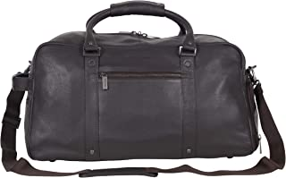 "Kenneth Cole REACTION 20"" Leather Top Zip Travel With Rfid"