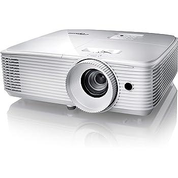 Optoma HD29H Full HD Projektor (3.400 Lumen, 50.000:1 Kontrast, 3D, Zoom 1.1) weiß