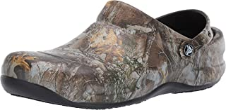 Crocs Men's and Women's Bistro Realtree Edge Work Clog
