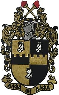 Alpha Phi Alpha G704 Shield Patch Emblem Fraternity Divine Nine Greek