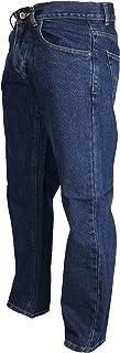 Mens Comfortable RV Basic Stonewash Blue/Indigo Jeans Plain Sizes 30-48 Leg 27, 29, 31, 33
