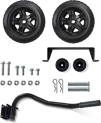 Champion Wheel Kit with Folding Handle and Never-Flat Tires for Champion 2800 to 4750-Watt Generators