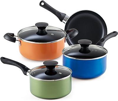 Cook N Home 02543Utensilios de cocina Starter Set, pequeño, multicolor