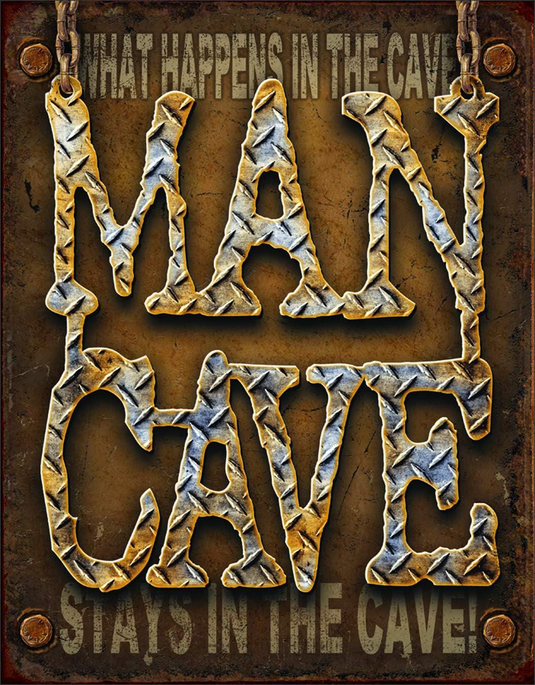Desperate Enterprises Man Cave - Deluxe Diamond Tin 16