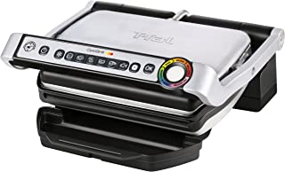 T-fal GC70 OptiGrill Electric Grill, Indoor Grill, Removable Nonstick Dishwasher Safe..