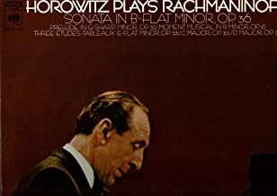 Horowitz Plays Rachmaninoff